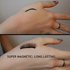 3 pairs False Magnetic Eyelashes Beauty Products