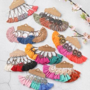 Bohemian Tassel Earring Sets Best Sellers Accessories