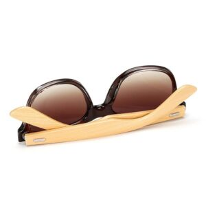Polarized Bamboo Women Sunglasses Eyewear