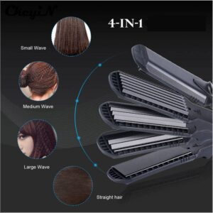 Pro 4 in 1 Hair Straightener and Curler Smart Electronics