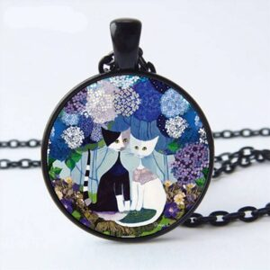 Vintage Cat Family Necklace Trending Accessories