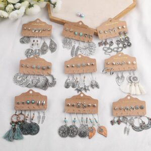 Vintage Ethnic Earrings Set Trending Accessories