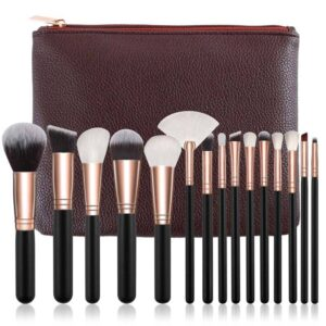15pcs Complete Makeup Brushes Kit Beauty Products