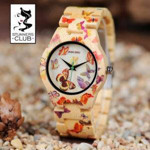 Butterfly Bamboo Stunner Watch Watches