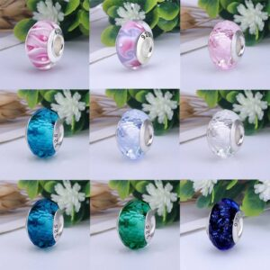 Colorful Lampwork Glass Beads Accessories