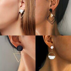 Fashion Geometric Drop earrings New Arrivals Accessories