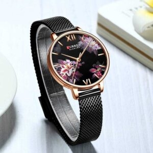 Ladies Flower Quartz Watch Watches