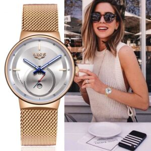 Stunner Rose Gold Quartz Watch Best Sellers Watches